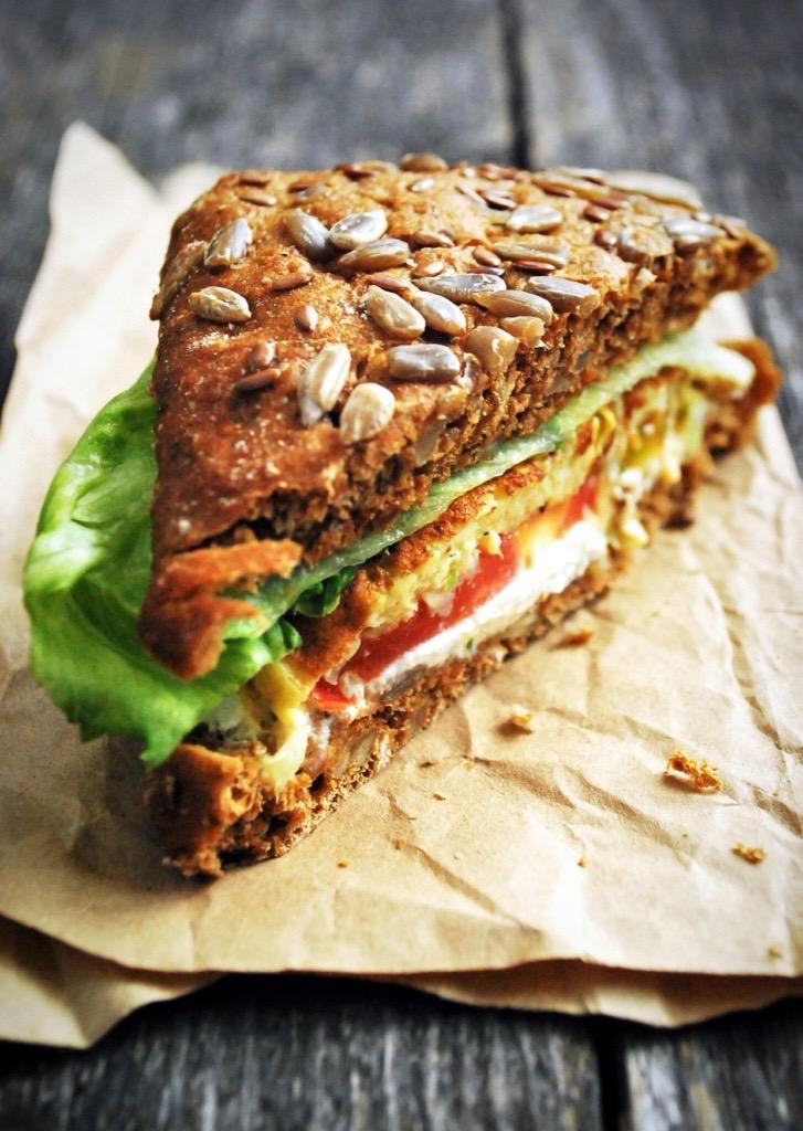 Räuchertofu-Sandwich von Brotist