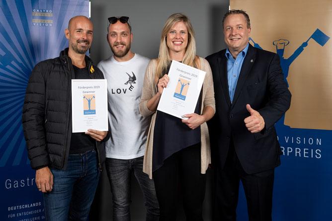 Gastro Vision Förderpreis Gewinner 2019